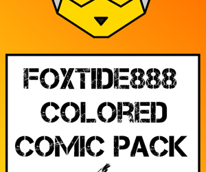 manga Foxtide888 Colored Comic Pack 04, pheromosa , western , nakadashi