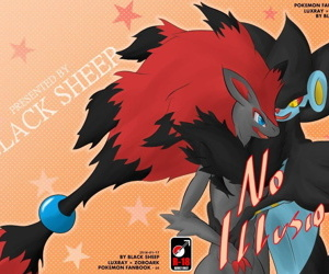 manga No Illusion, luxray , zoroark , western , furry