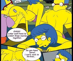 manga The Simpsons 6 - Learning With Mom -.., milf  incest