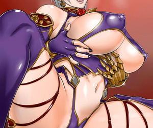 manga SoulCalibur Collection - part 10, ivy valentine , sophitia alexandra , blowjob , furry  stockings