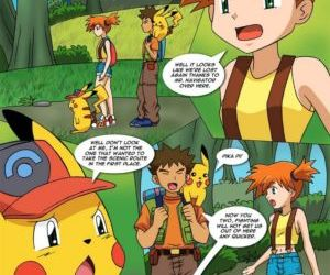manga The New Adventures Of Ashchu 1 - part 7, pokemon , furry