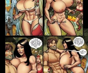 manga Wheel Of Change - part 2, breast expansion , threesome