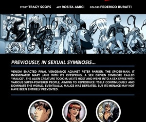 manga Spider-Man Sexual Symbiosis 2, superheroes