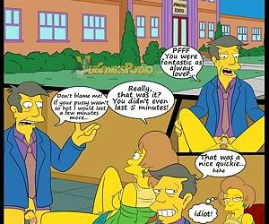 manga The Simpsons 5 - New Lessons, milf , incest