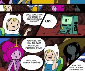 manga MisAdventure Time 2 - What Was Missing, threesome , adventure time