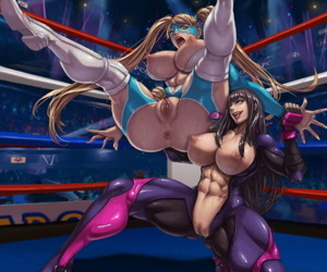 manga Street Fighter Collection - part 15, chun-li , juri han , blowjob , anal