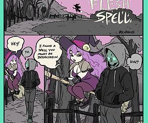 manga Flesh Spell 1, crossdressing , threesome