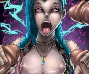 manga League of Legends - Heightes - Jinx, jinx , hentai  league of legends