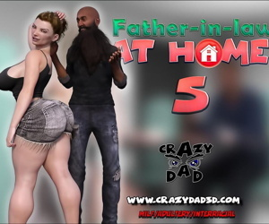manga CrazyDad- Father-in-Law at Home Part 5, blowjob , milf