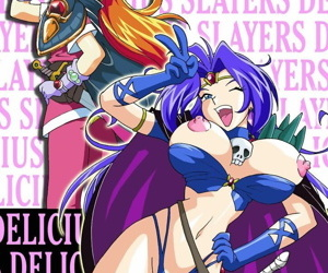 manga Slayers Delicious, gourry gabriev , lina inverse , western , big breasts  ffm threesome