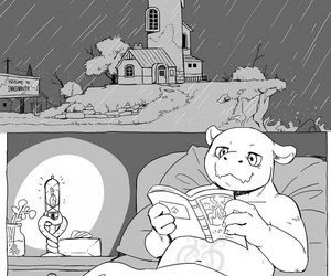 manga Rainy Night, furry , hentai  gay & yaoi