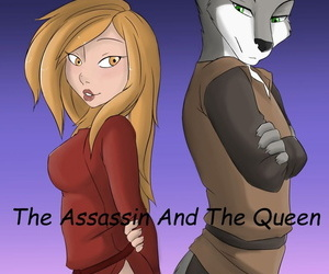 manga The Assassin and the Queen, blowjob , western