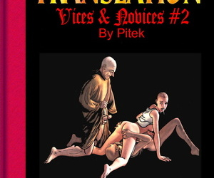 english manga Pitek Vices & Novices #2 English, blowjob , anal