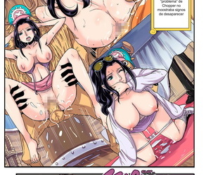 manga Oukokusan Kakutou Oukoku CHOP STICK.., nico robin , tony tony chopper , furry , big breasts  transformation
