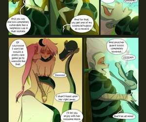 manga Of the Snake and the Girl - part 4, kaa , western , incest