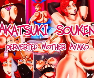 manga Akatsuki Souken – Perverted mother.., blowjob , anal