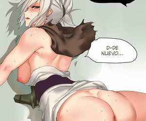 manga Endurance Test Irelia & Riven - part 3, irelia , riven , league of legends , doujinshi