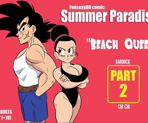 manga Summer Paradise Part 2, chi chi , bardock , western , big breasts