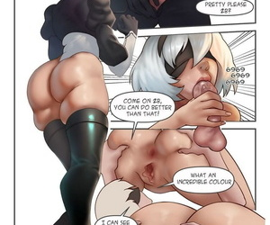 manga 2B But From Other World, ahegao , hentai