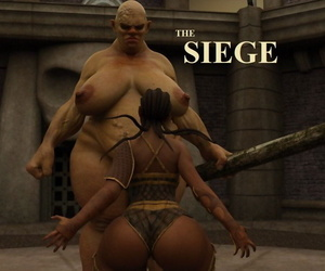 manga BLACK – THE SIEGE, big breasts , dark skin