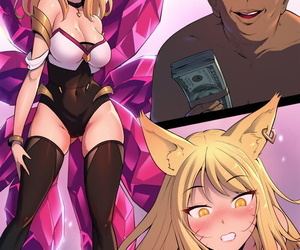 manga Damian K/DA Ahri League of Legends, ahri , western , sole female