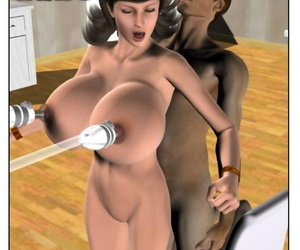 manga StrongAndStacked- Rich Tits, dark skin , breast expansion