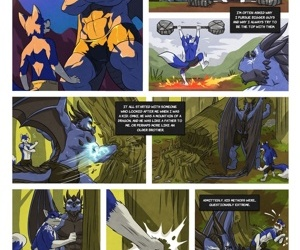 manga Black And Blue 2, furry  yaoi