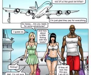 manga African Adventures, bondage , cheating  orgy