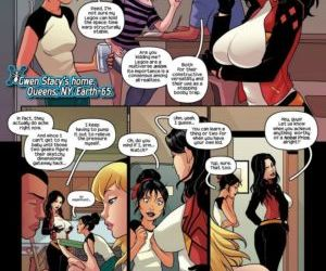 manga Spider Women, comics , superheroes  pregnant
