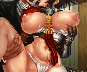 manga Artist Galleries ::: L Axe - part 3, western , big breasts  oni