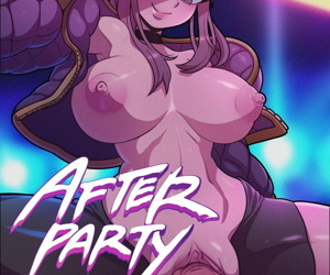 manga After Party, ahri , evelynn , anal , western  tentacles