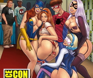 manga Fan-Service Con, mary jane watson , black cat , western  nakadashi