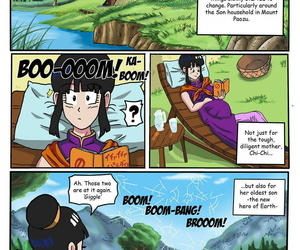 manga Dragon Ball Z Golden Age - Fiery Lake, ahegao , milf  pregnant
