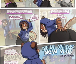 manga New Year New You, blowjob , anal  oni