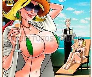 manga Family Riqueza 3 - 500ml of New Silicone, western , big breasts  swimsuit